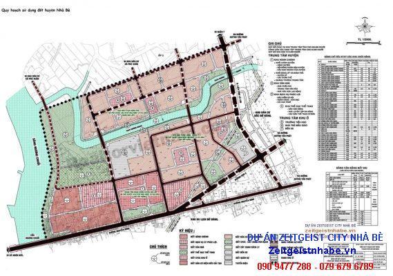 Quy hoạch sử dụng đất huyện Nhà Bè