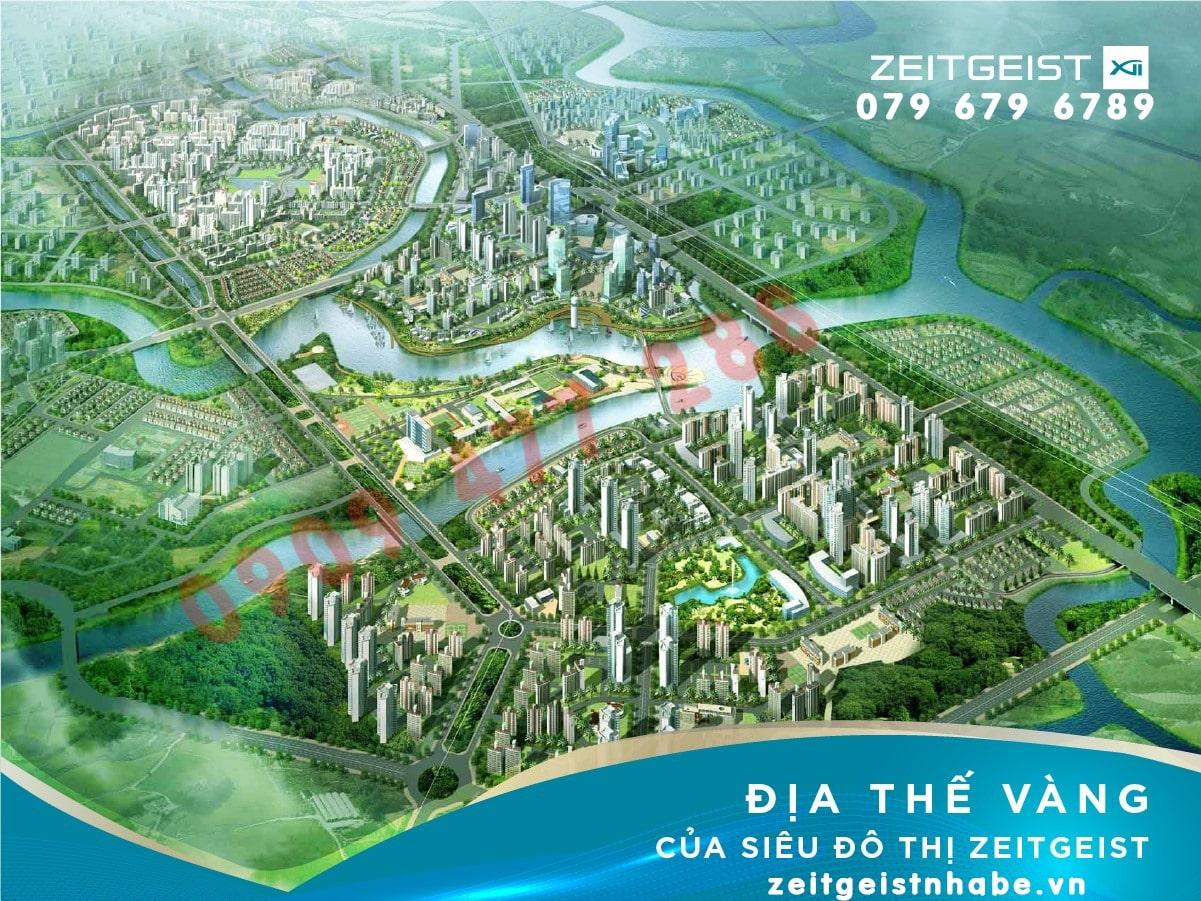 Nhà Bè lên quận, dự án Zeitgeist Xii City hưởng lợi khủng ra sao?